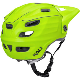 Kali Maya 2.0 Casco, matte neon yellow/black